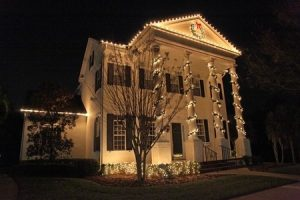 Use Your Gutters to Hang Your Christmas Lights