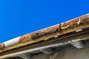 Rusted Gutters