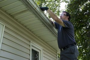 Cleaning Old Gutters