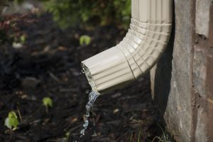 Water From Downspout